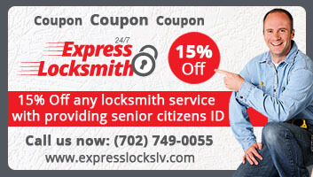 15% off locksmith service