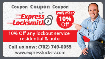 10% off locksmith services